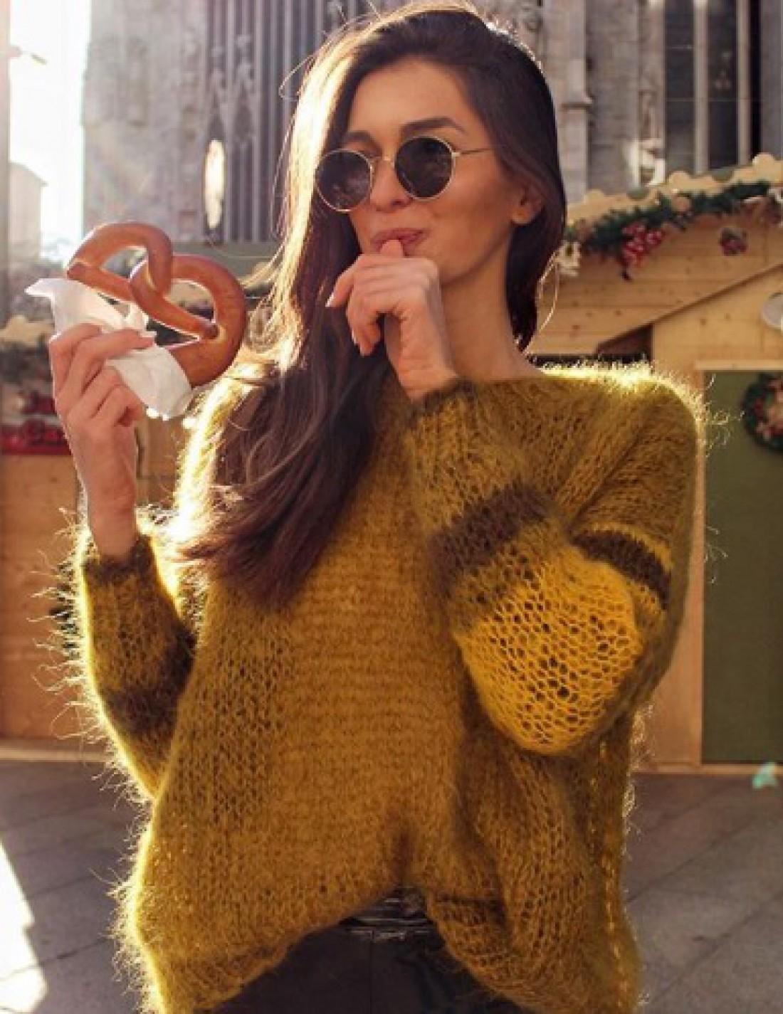 Модные свитера 2019
