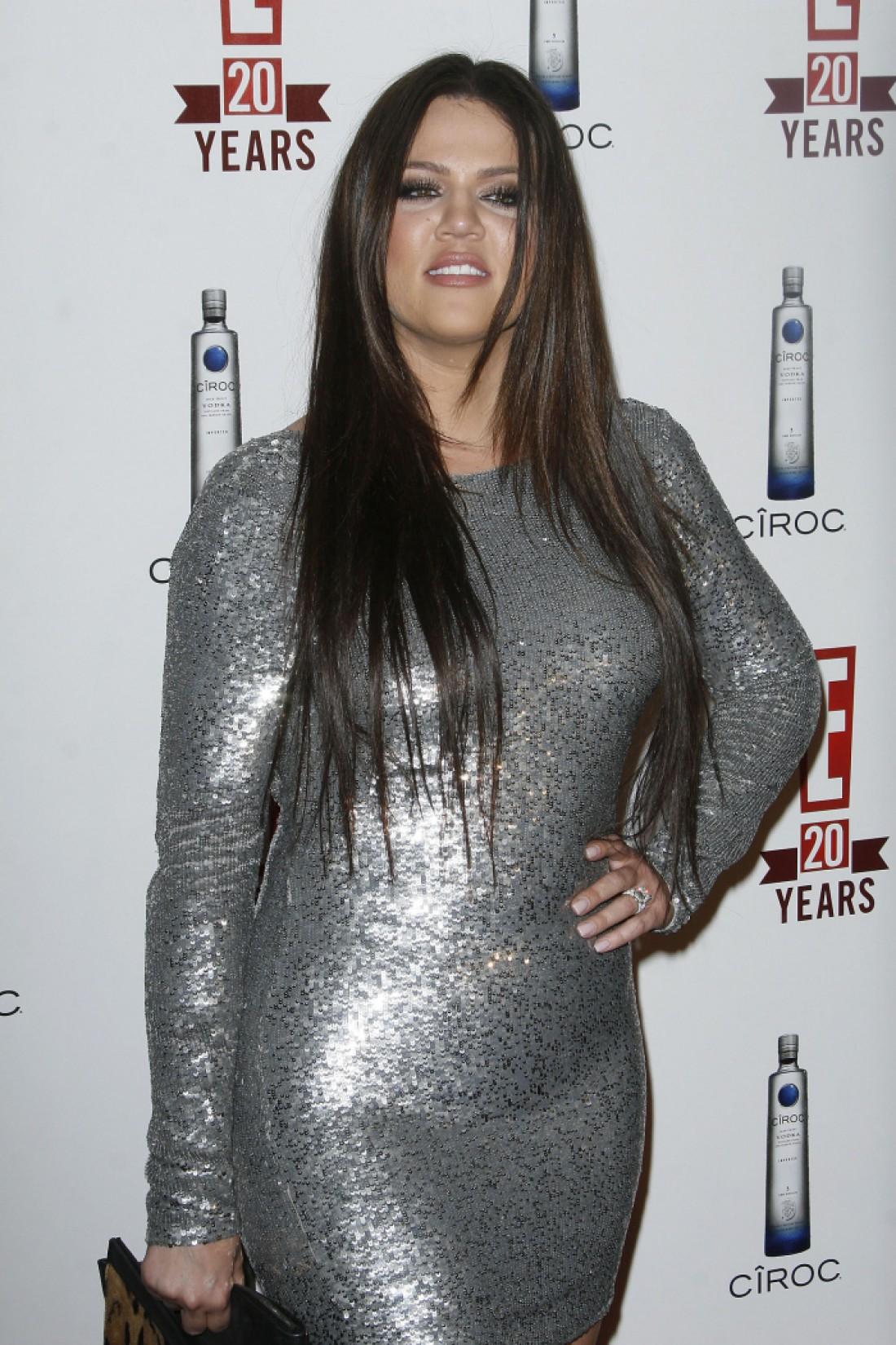 Хлои Кардашян до похудения, 2010 год