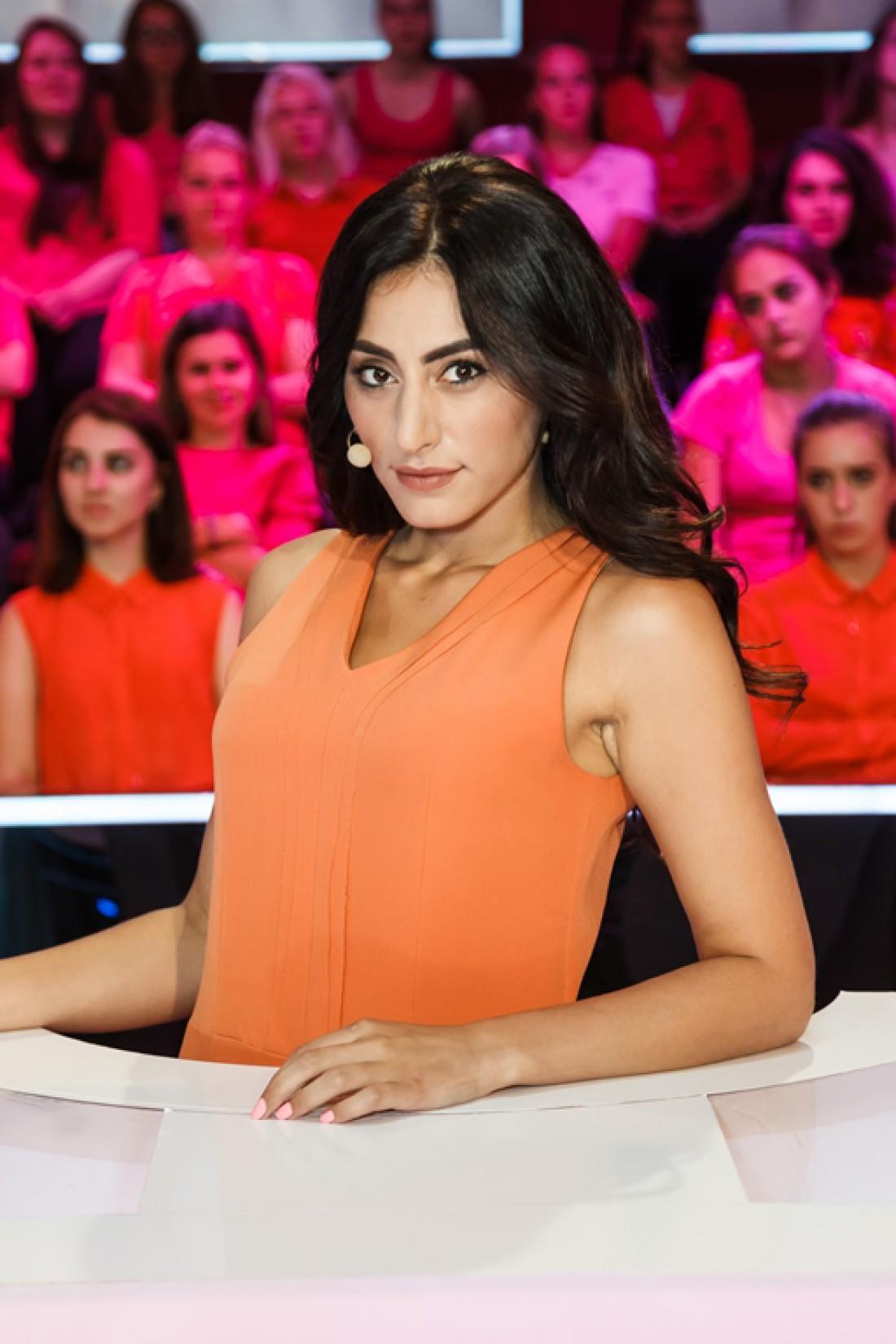 Телеведущая Роза Аль-Намри