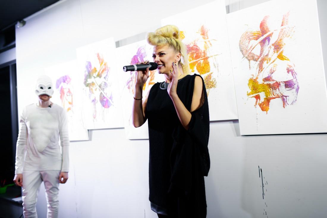Ириша Блохина стала продюсером художественной выставки