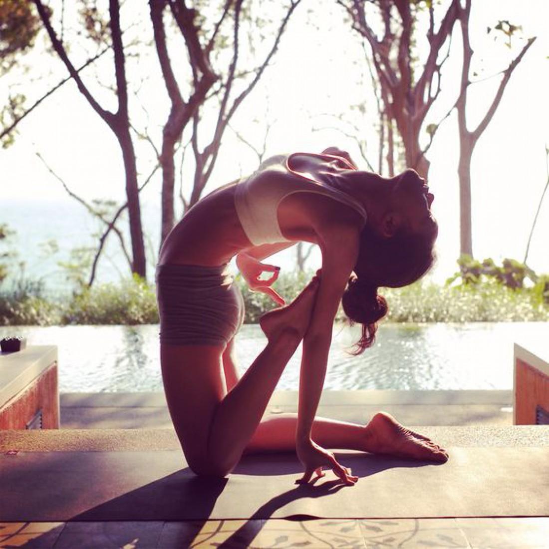 Йога полезна для здоровья