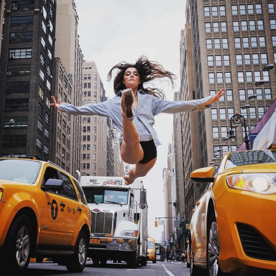 Балерины в большом городе