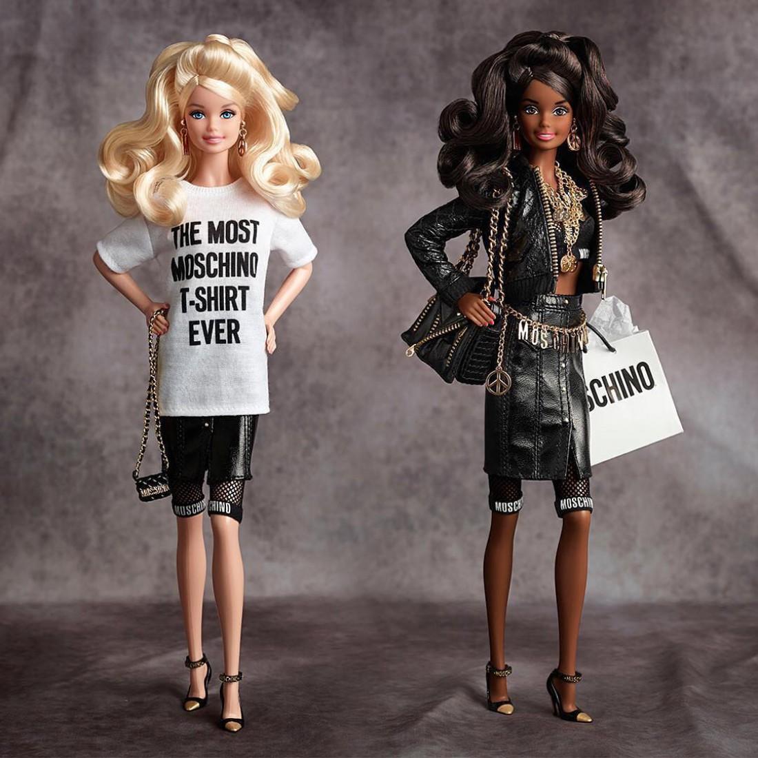 Moschino создали капсульную коллекцию для куклы Барби