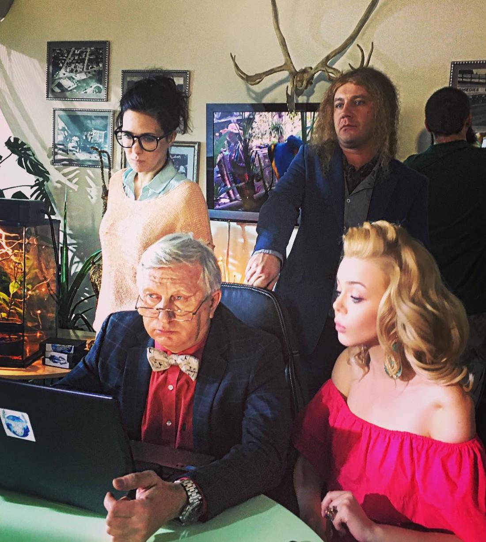 Алина Гросу приехала на съемки сериала в Киев
