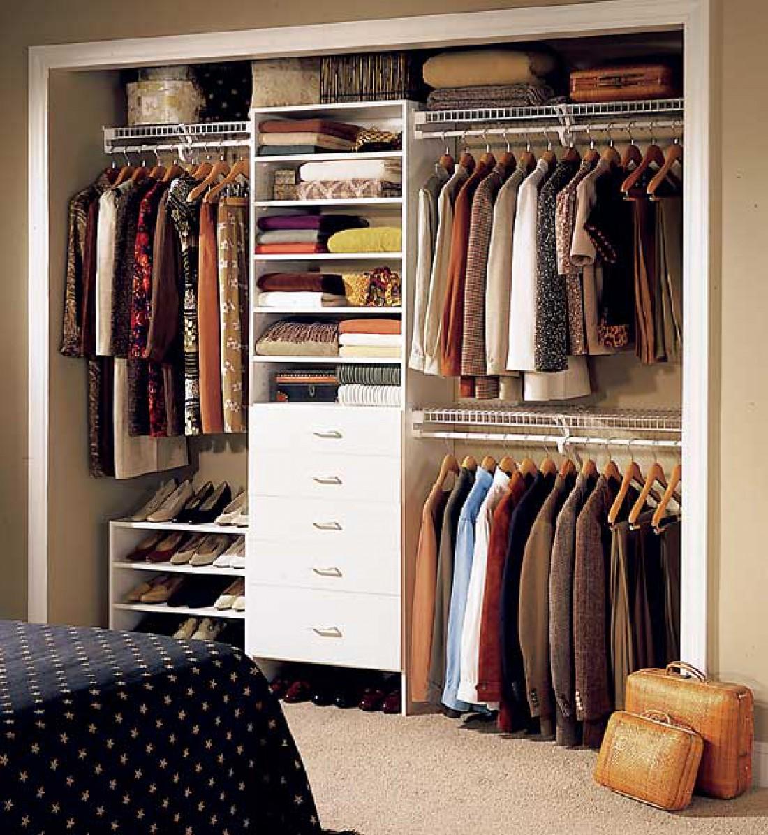 Организация шкафа