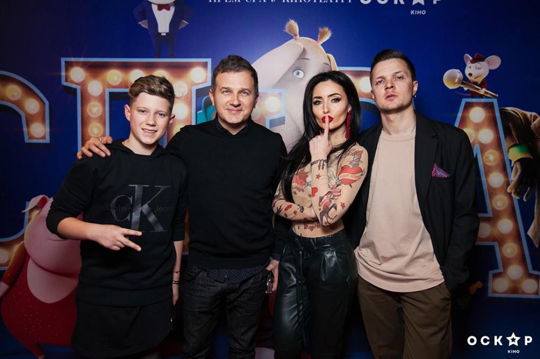 Юрий Горбунов, Андрей Бойко, Женя Галич и Аня Добрыднева