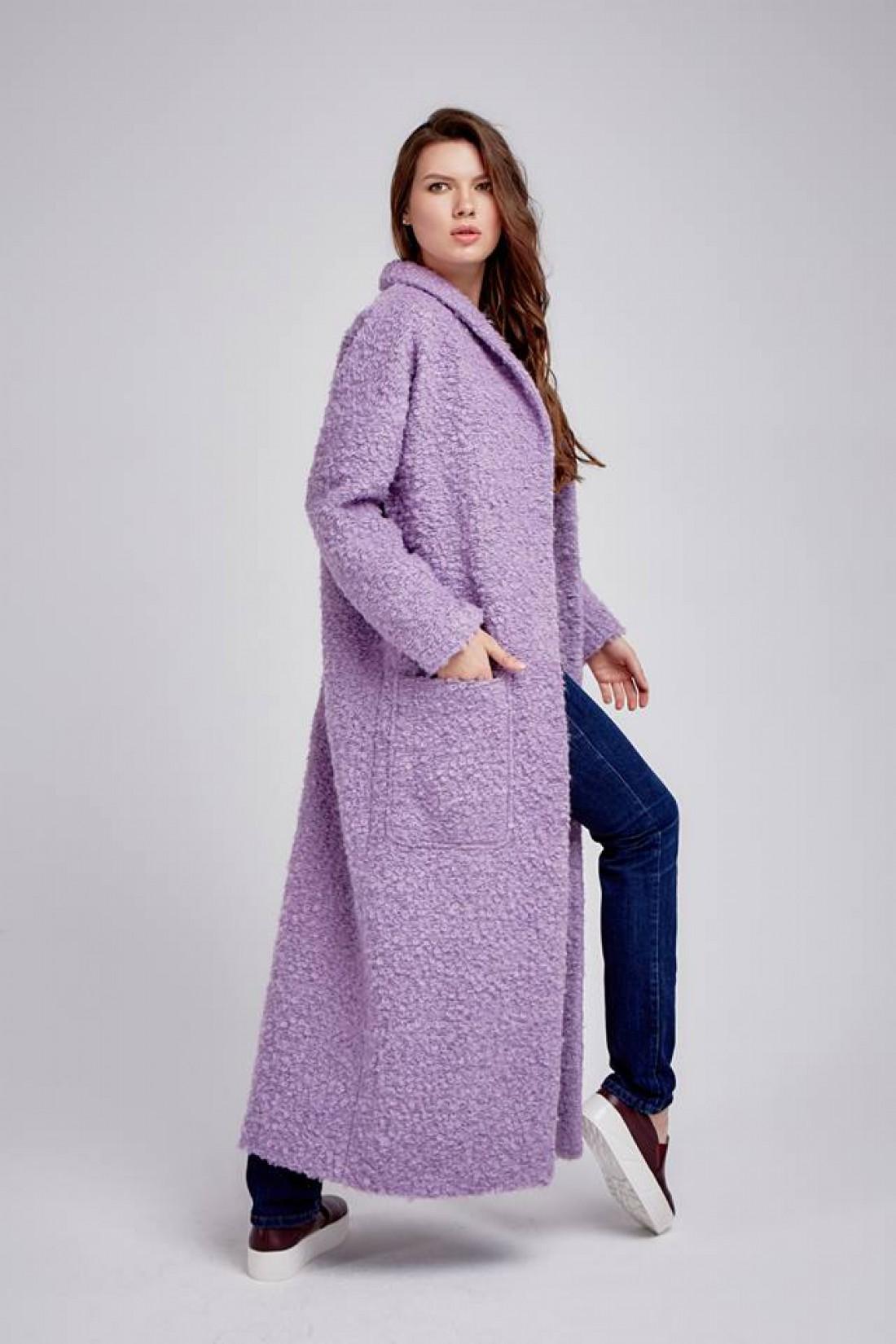 Пальто из мохера
