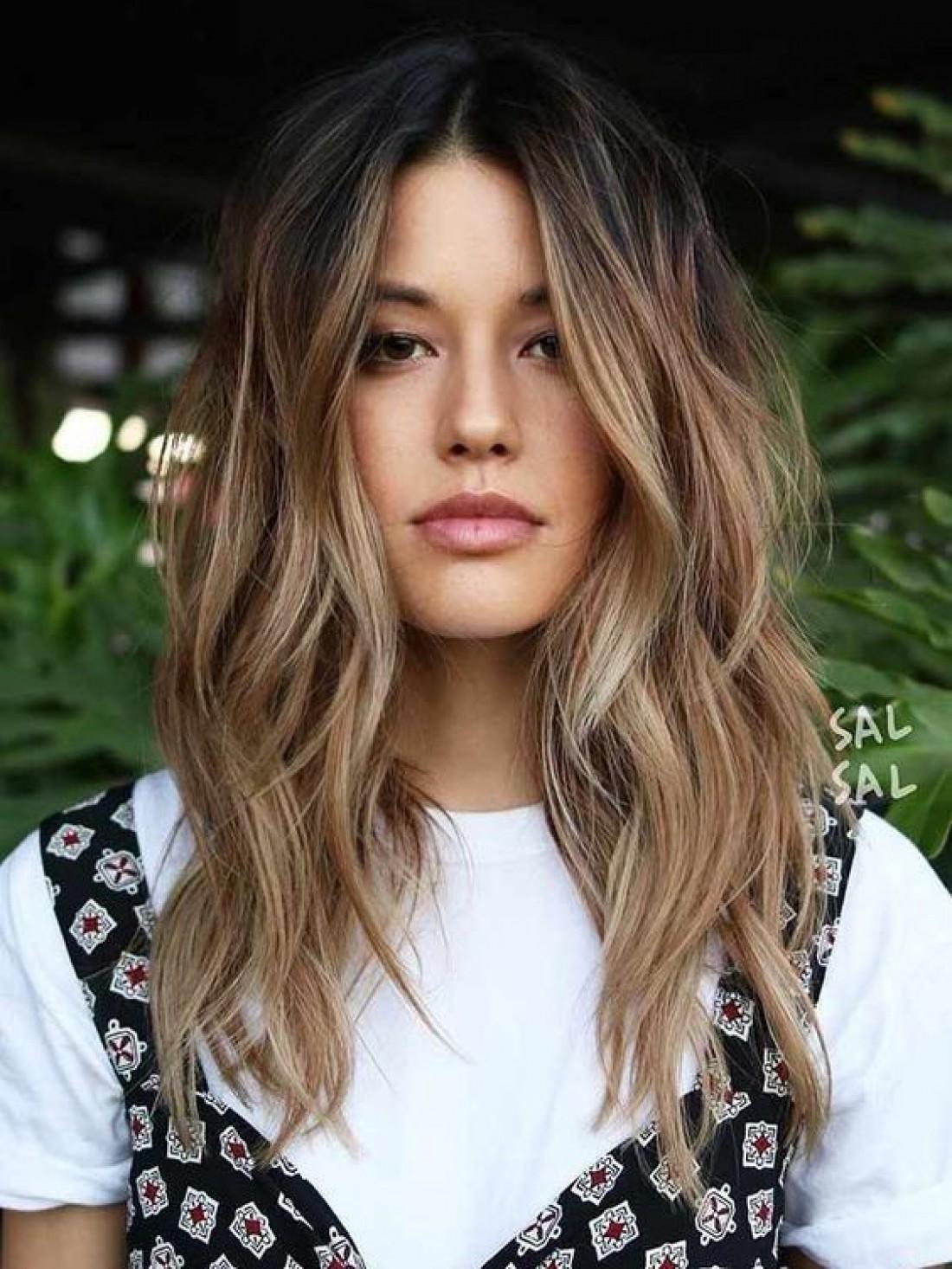 Модное окрашивание волос 2019: оригинальные техники и оттенки