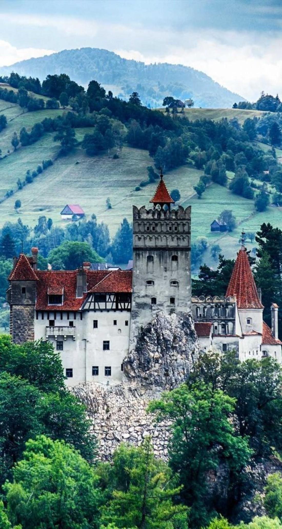 Замок Бран -