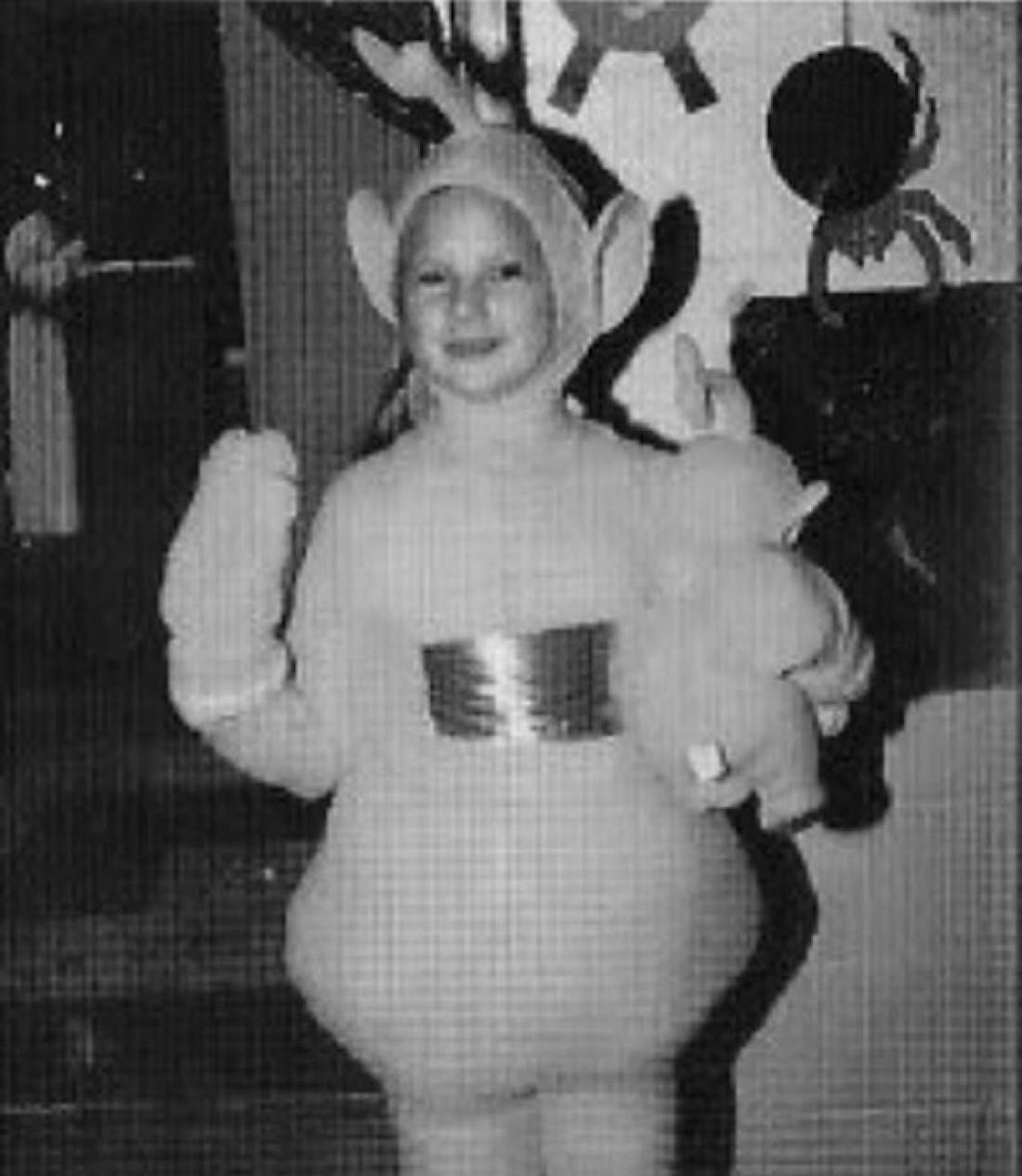 Тейлор Свифт в костюме телепузика
