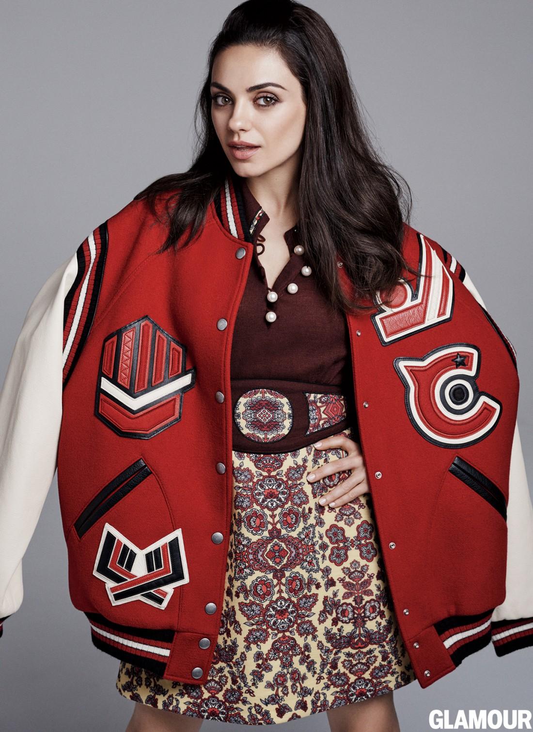 Актриса Мила Кунис на страницах Glamour
