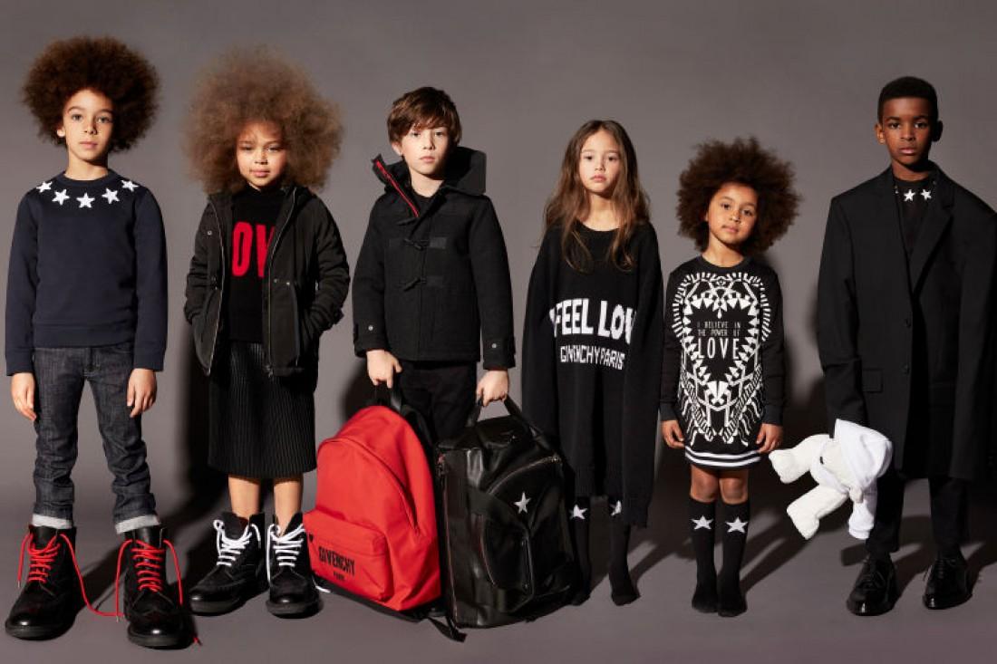 Лукбук первой детской коллекции Givenchy