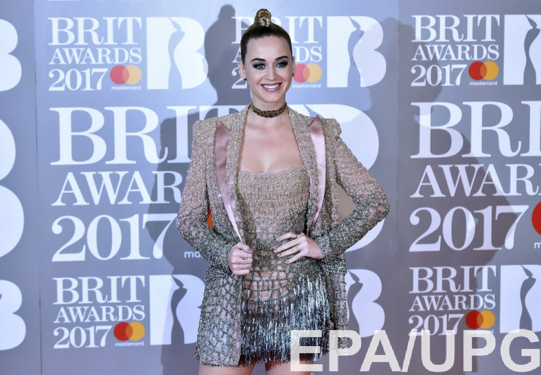 Кэти Перри на  Brit Awards 2017