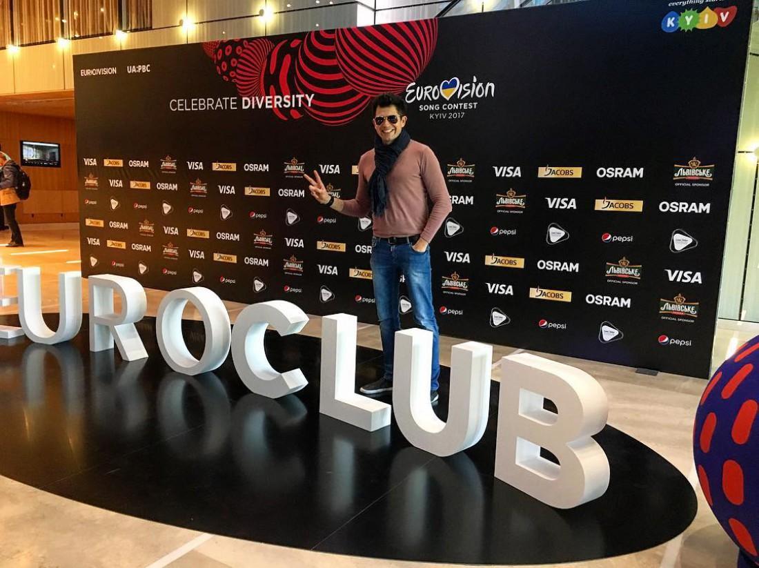 Еврвоидение 2017: Андрей Джеджула