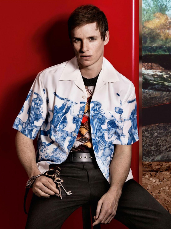 Эдди Рэдмейн в новой рекламной кампании Prada