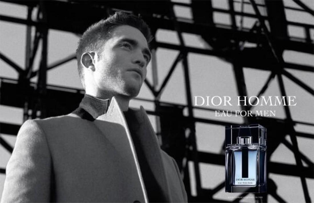 Актер Роберт Паттинсон для Dior Homme Intense