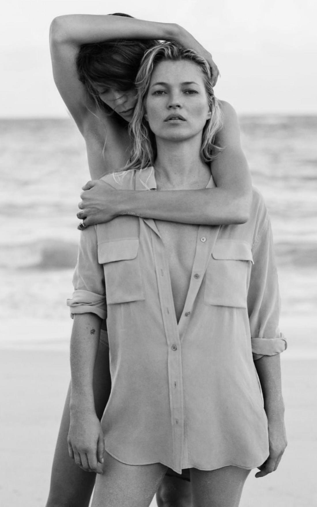 Кейт Мосс и Дарья Вербова украсили новую фотосессию