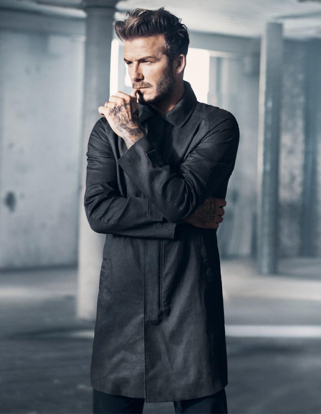Дэвид Бекхэм снялся в новом видео для H&M