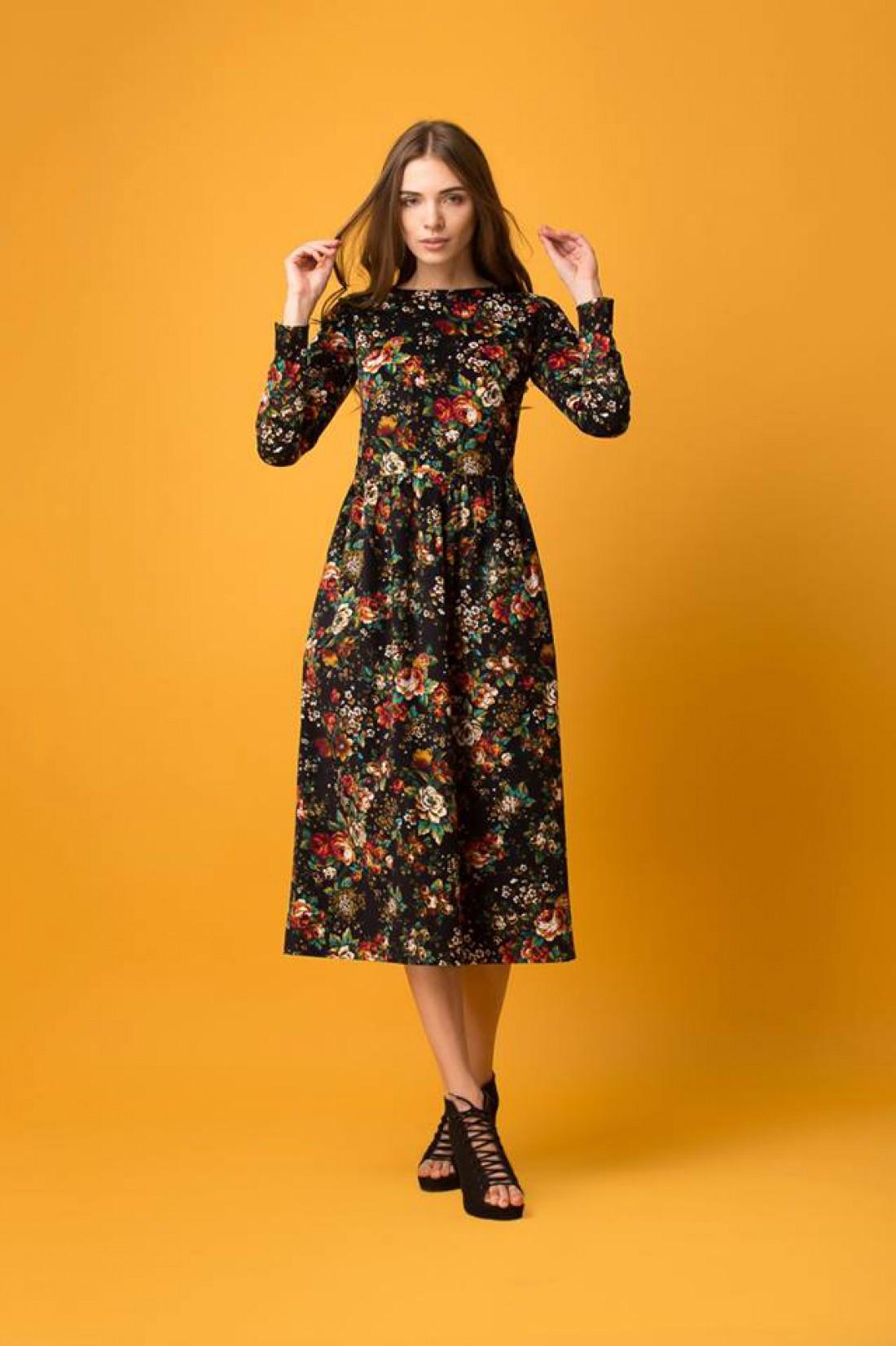 Цветочное платье от украинского бренда Oh,Yes