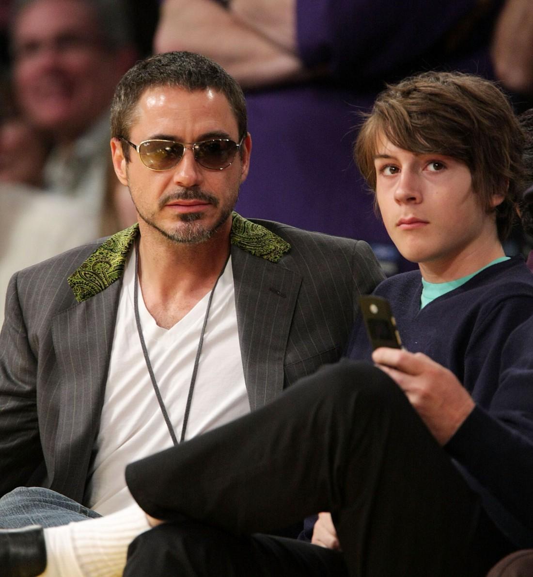 Роберт с сыном