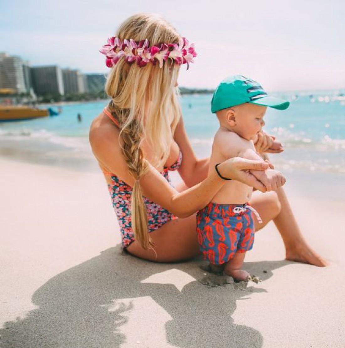 Ребенок и загар: польза или вред?
