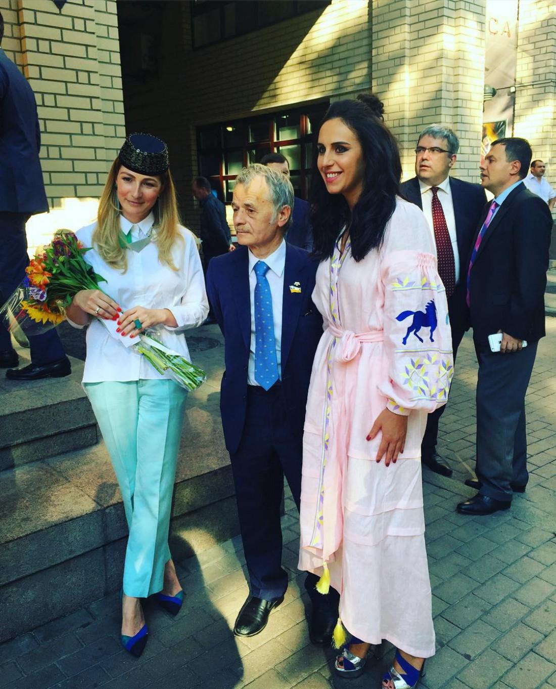 Джамала и Мустафа Джемилев