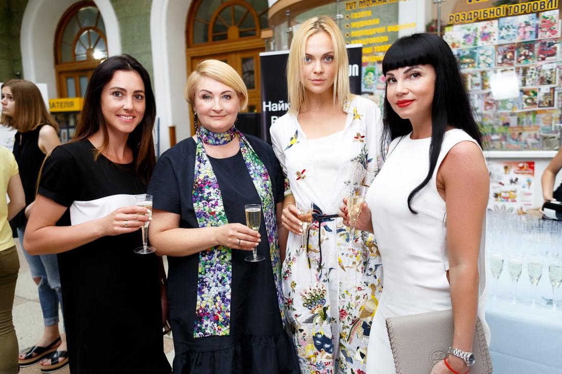Хозяйка вечера – глава оргкомитета Ukrainian Fashion Week Ирина Данилевская