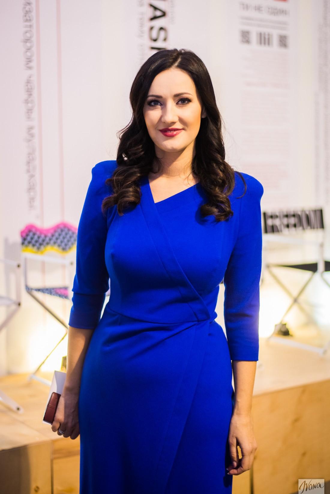 Украинская ведущая Соломия Витвицкая
