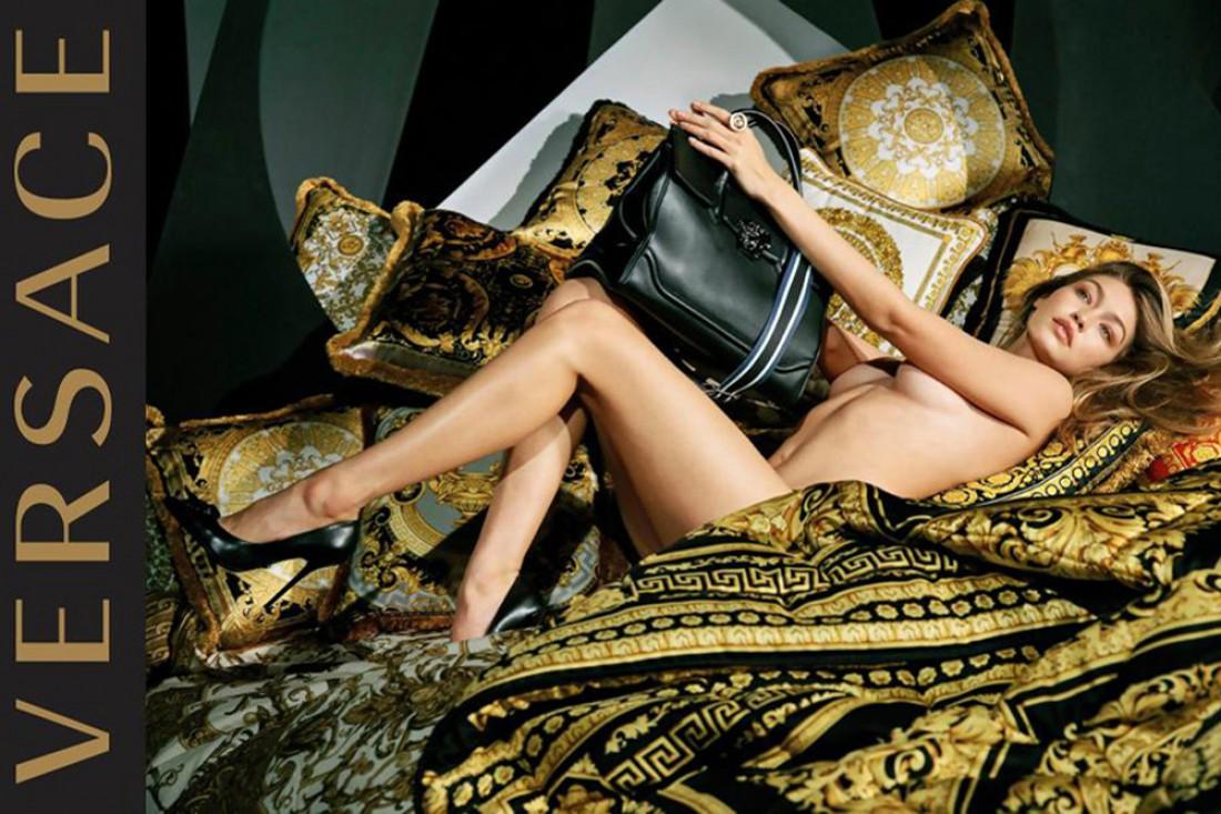 Топ-модель Джиджи Хадид в новой рекламной кампании Versace
