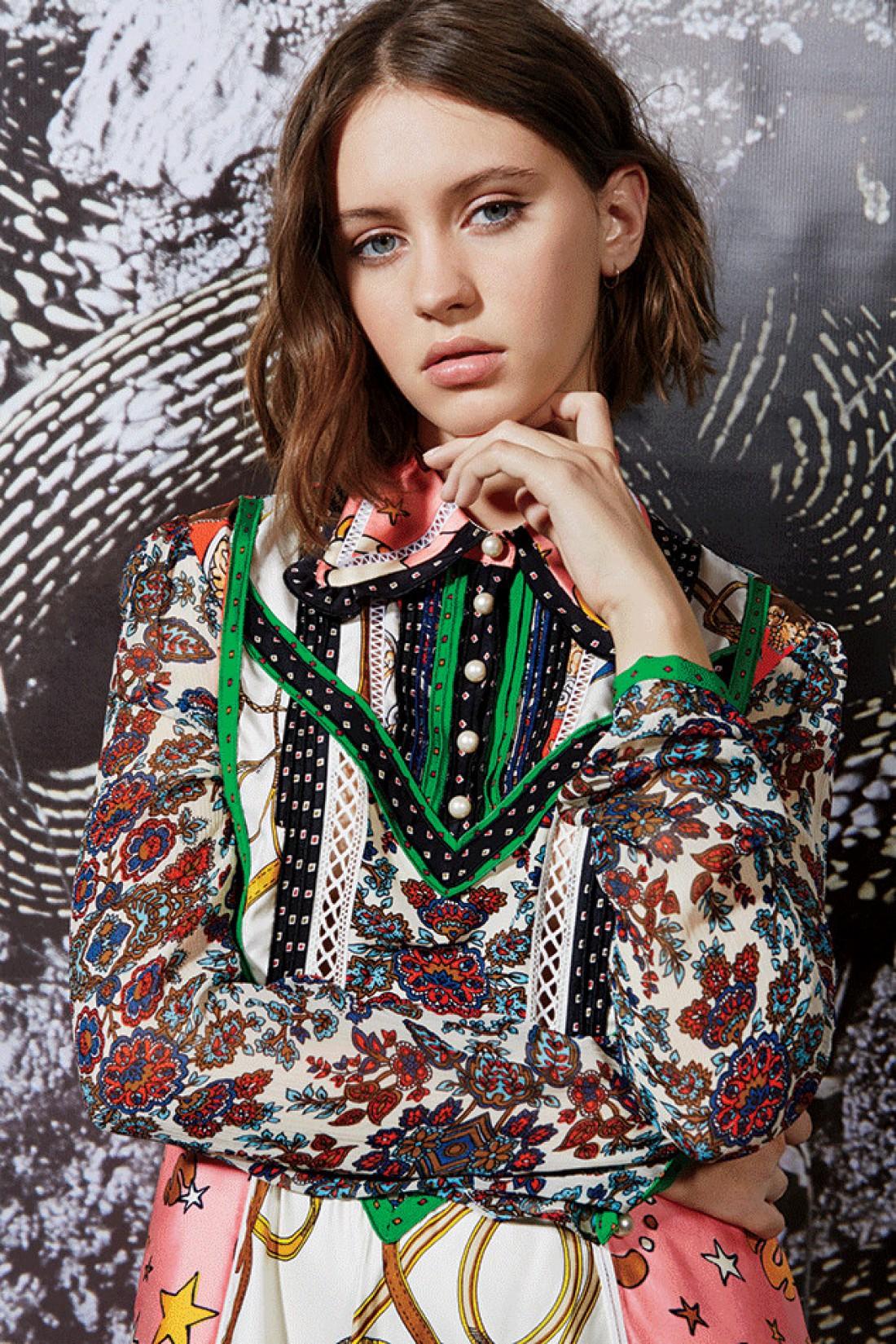 Айрис Лоу для журнала Teen Vogue