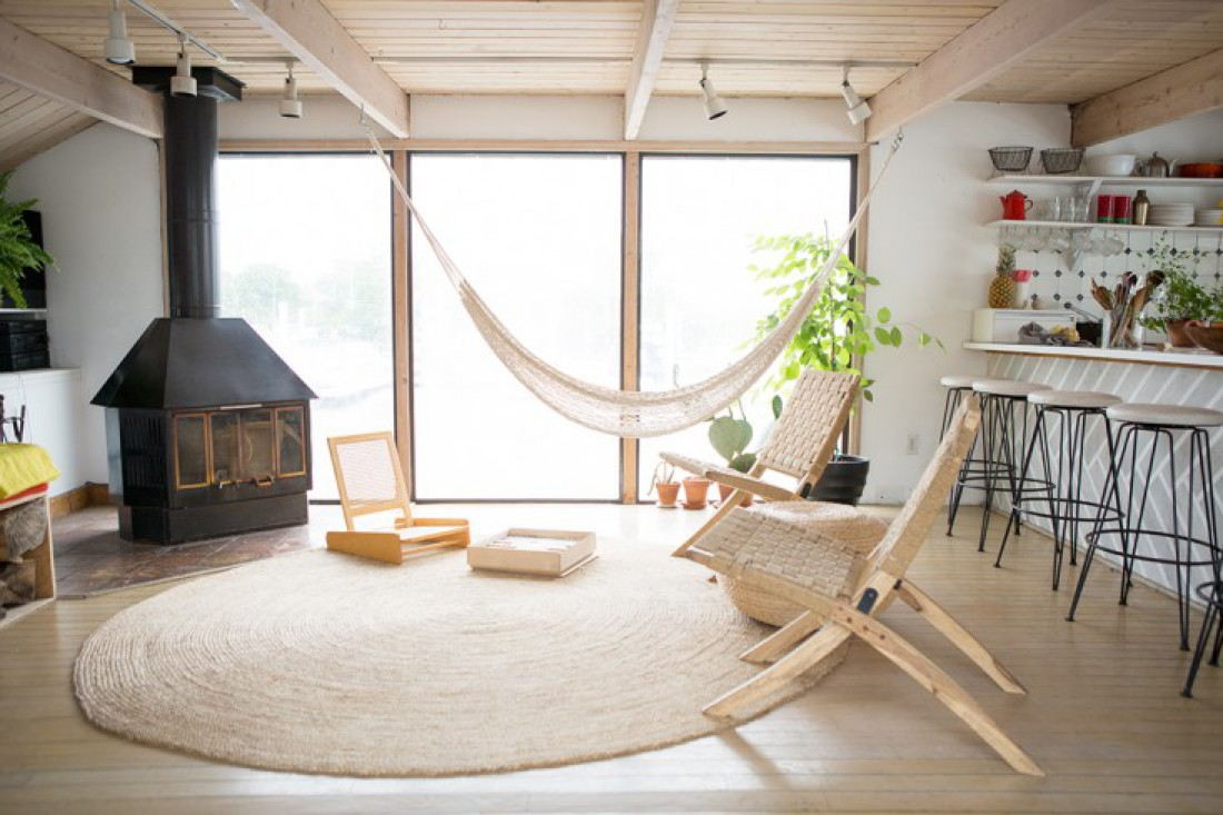 A Breathtaking Interior Hammock Swing Chair  Adelisa amp Co