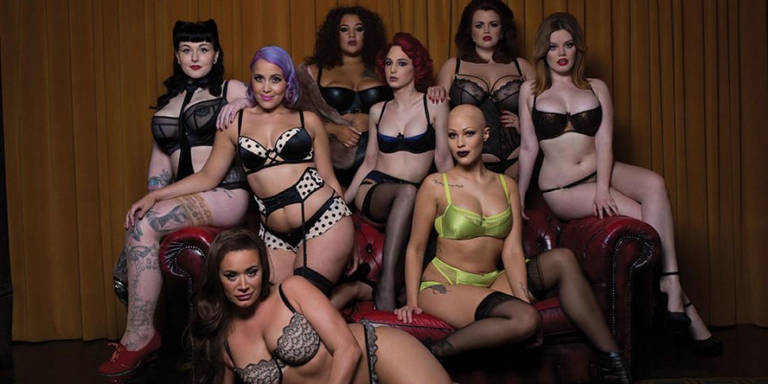 Нестандартные модели в рекламной кампании нижнего белья