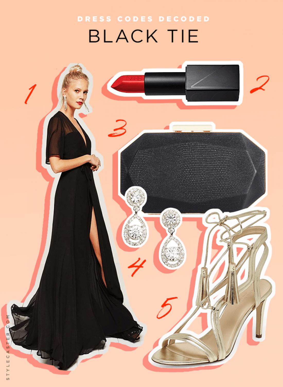 Свадебный дресс-код: black tie