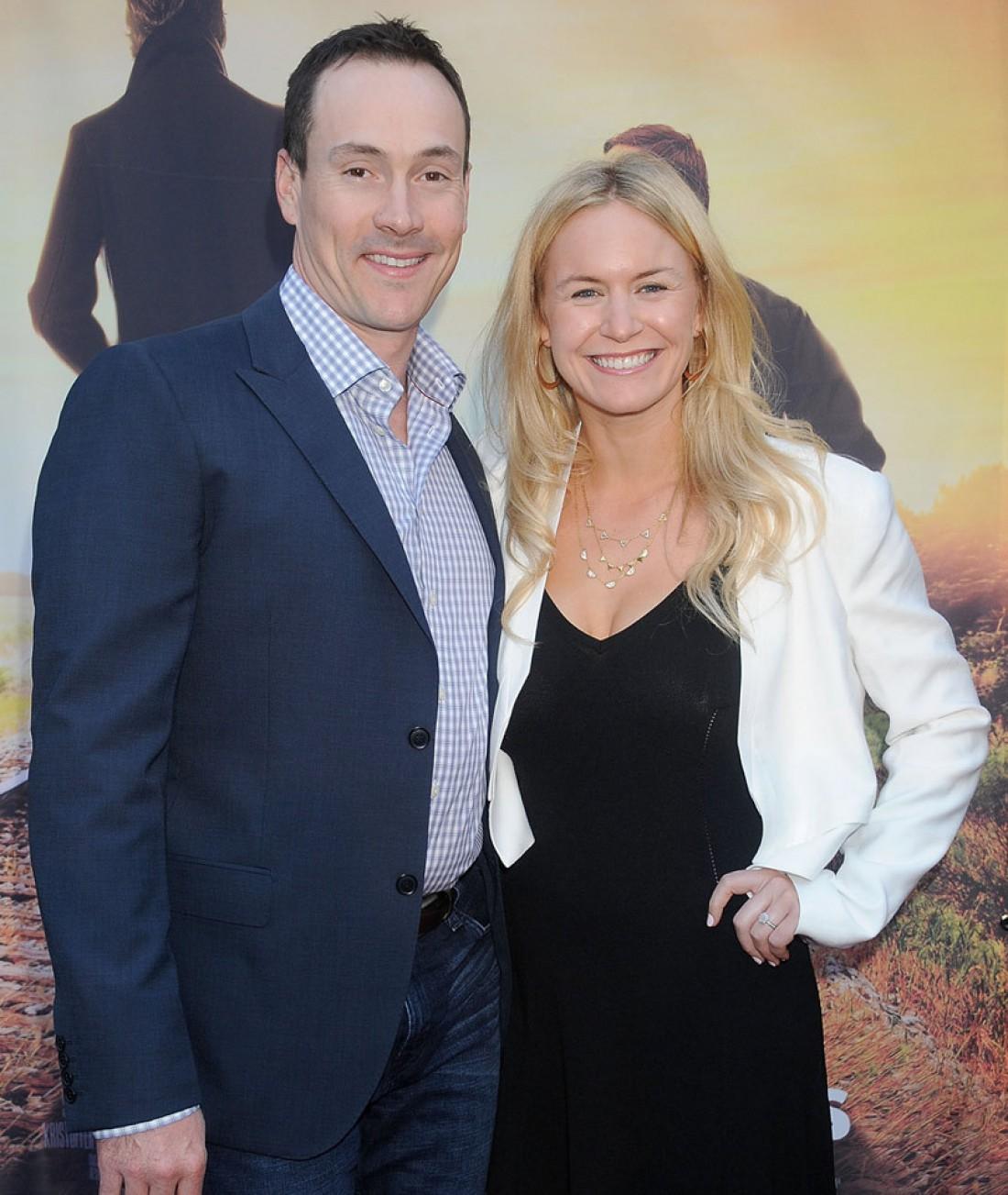 Крис Клейн с женой