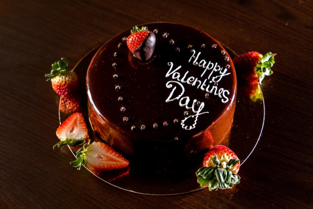 Подарок мужу на День Валентина: торт