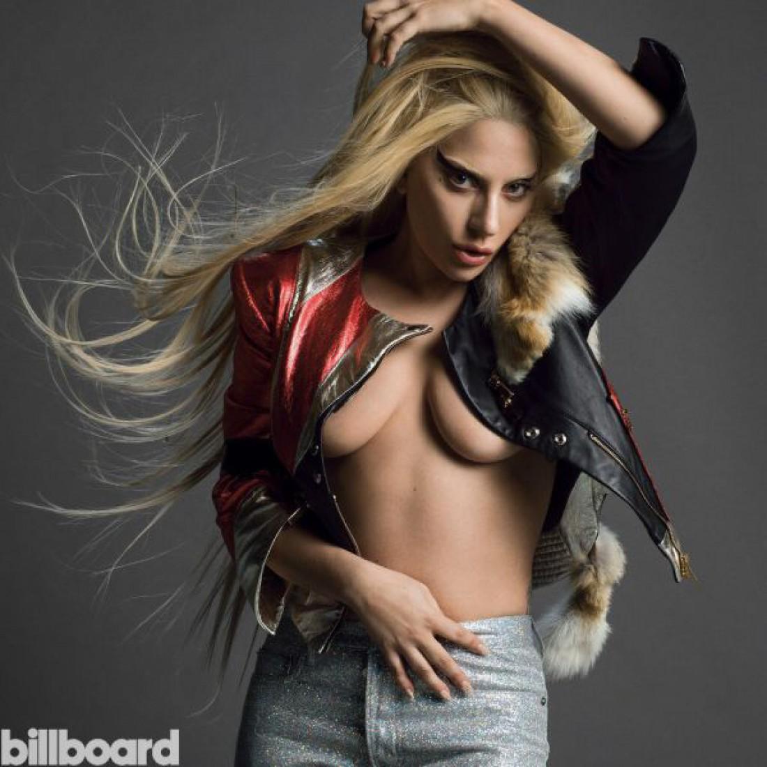 Новая откровенная фотосессия от Lady Gaga