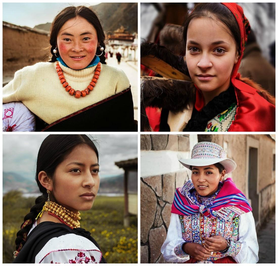 Фотограф Михаэл Норок собрала портреты женщин с 37 стран мира
