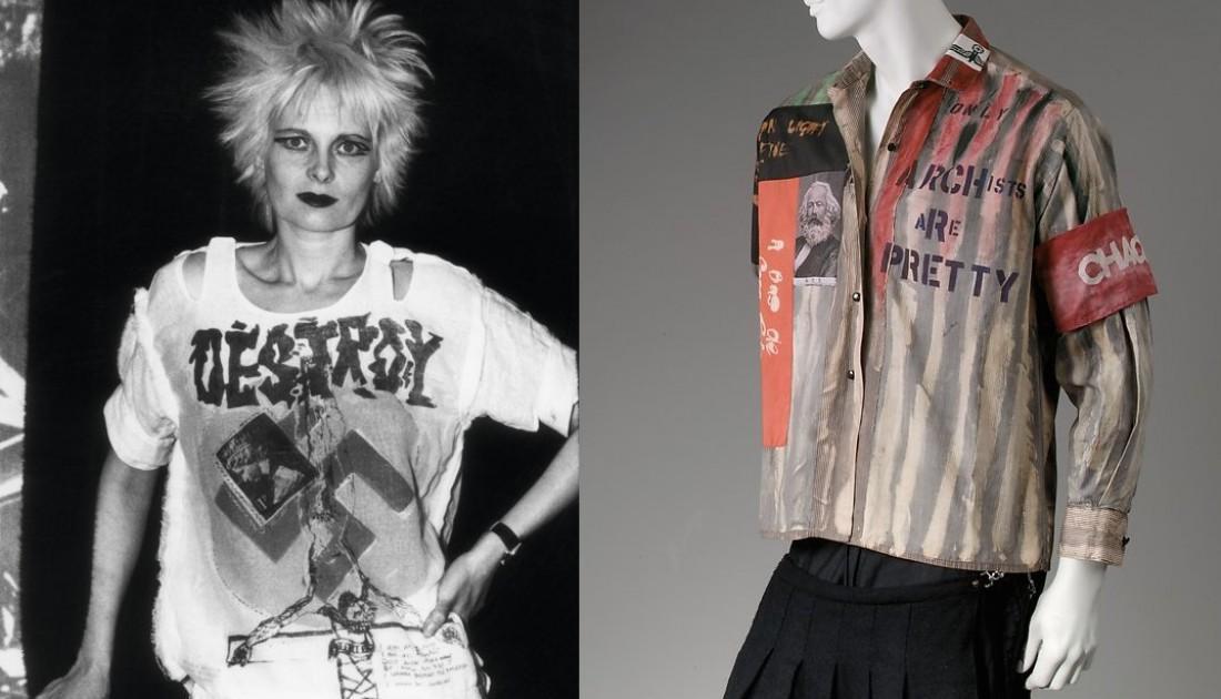 Патчи были популярными в субкультурах панков и хиппи