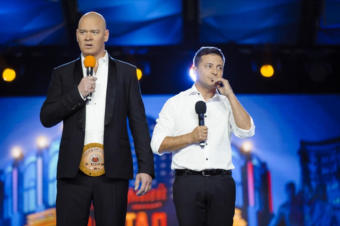 Владимир Зеленский и Евгений Кошевой