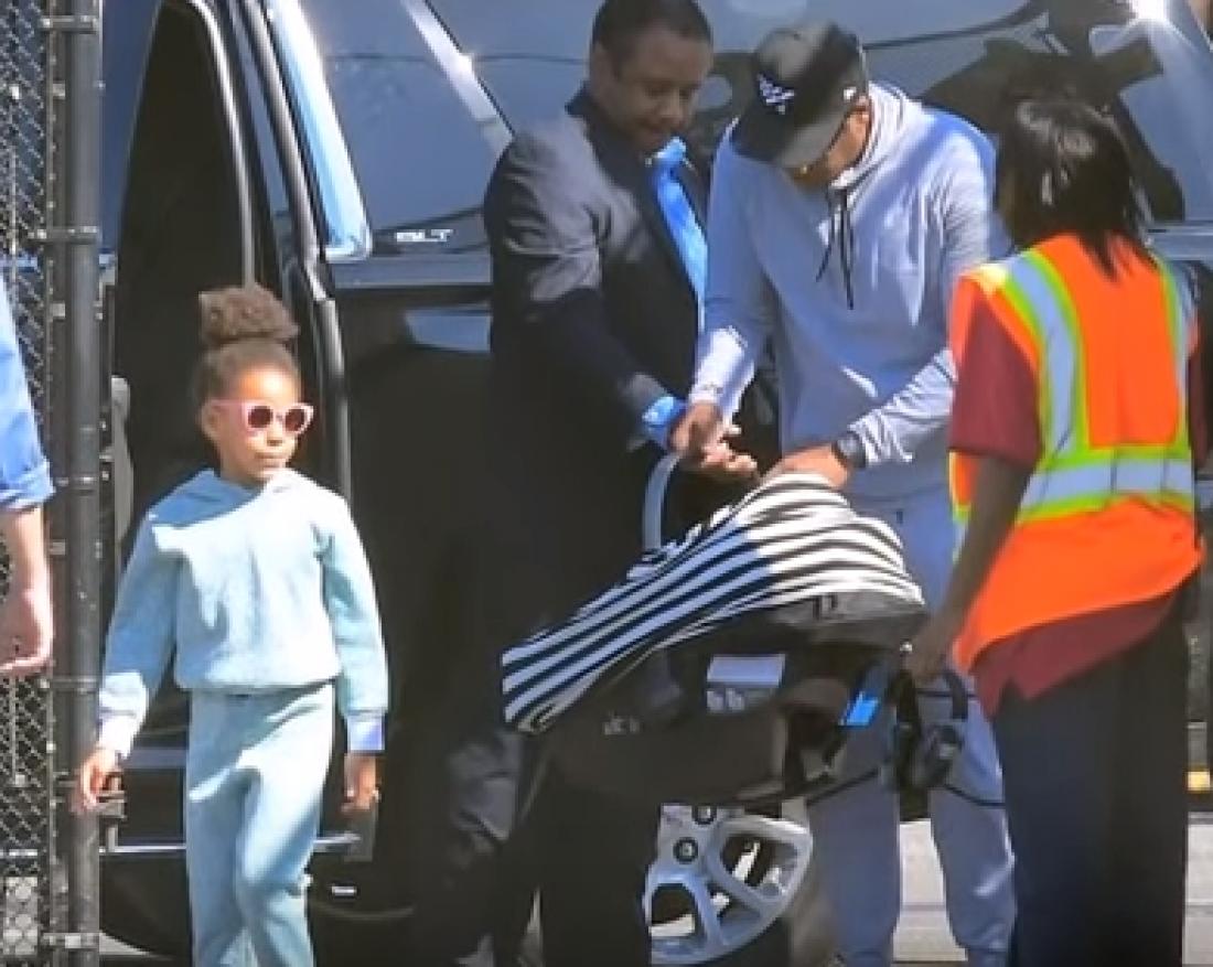 Jay Z с детьми