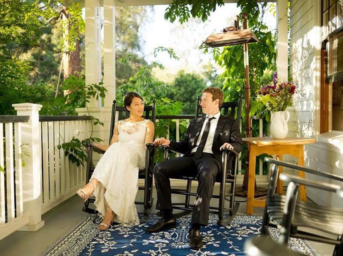 33-летний Марк Цукерберг и его супруга 32-летняя Присцилла Чан