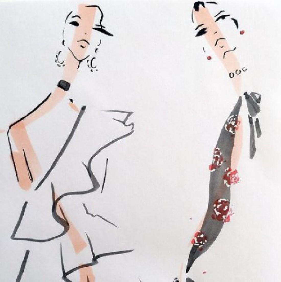 Шесть fashion-иллюстраторов, на которых стоит подписаться в Instagram