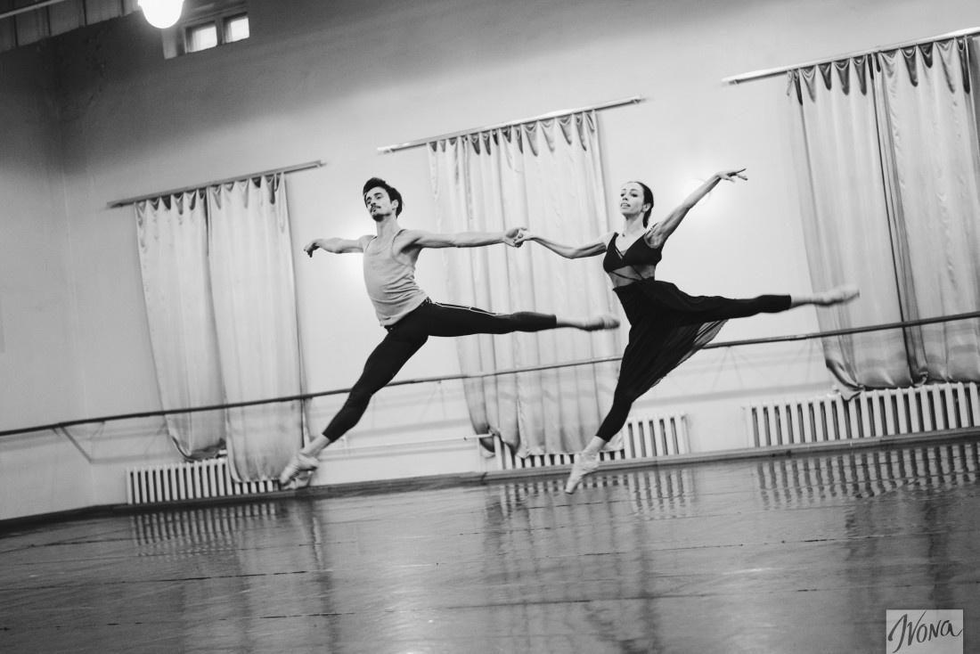 Репетиция балета Ромео и Джульетта