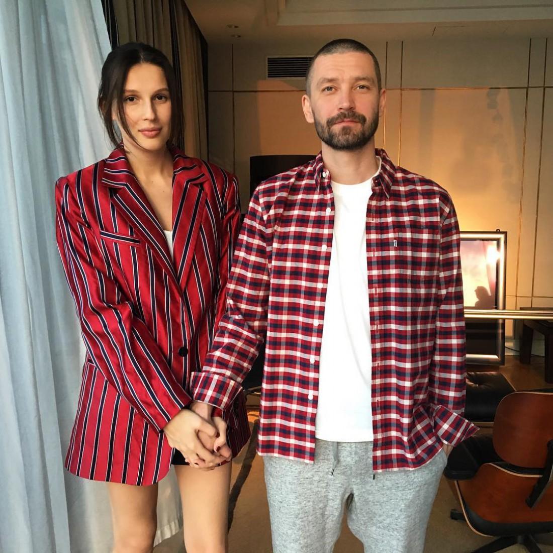 Владимир Кристовский с женой Ольгой
