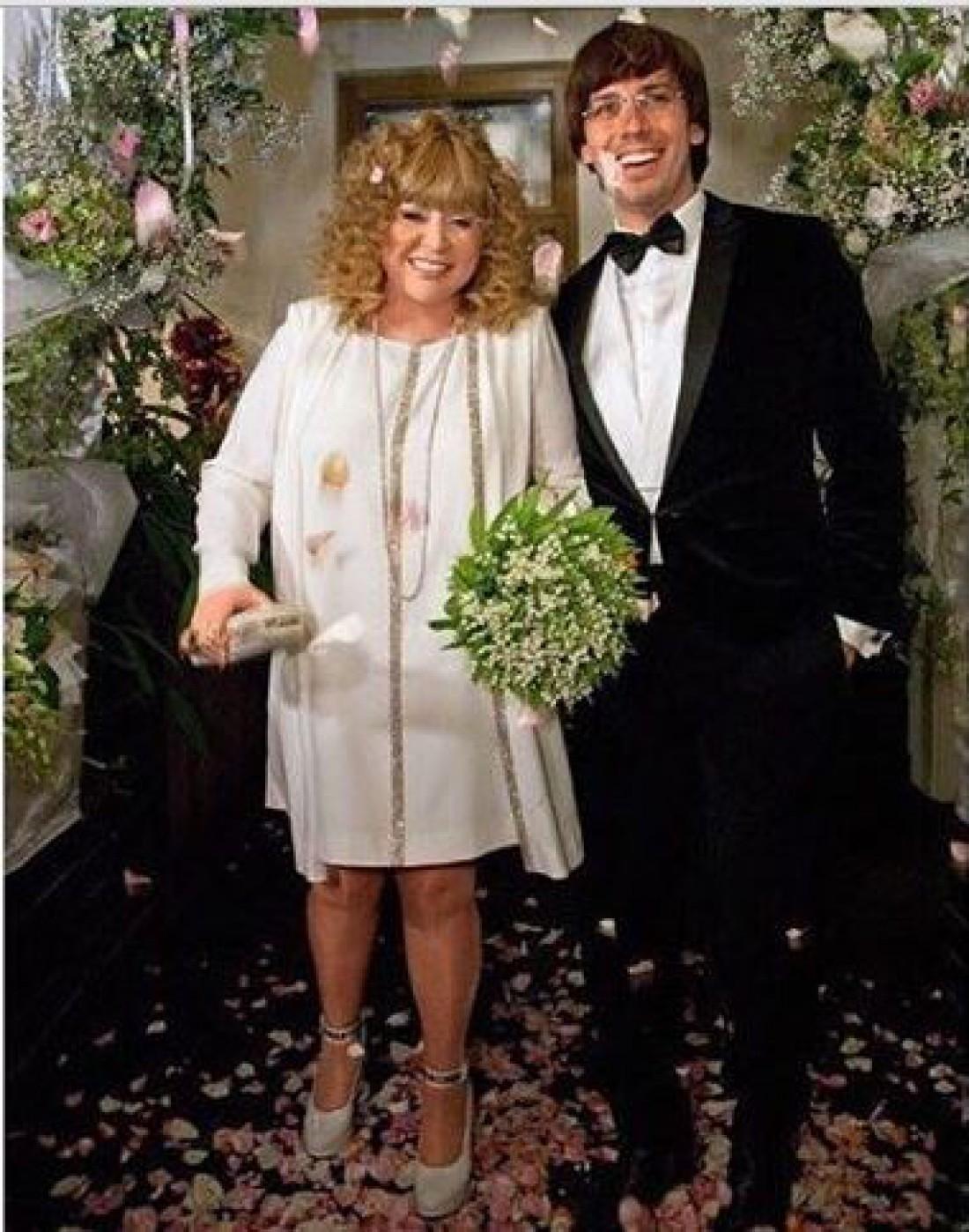 Фото пугачевой на свадьбе