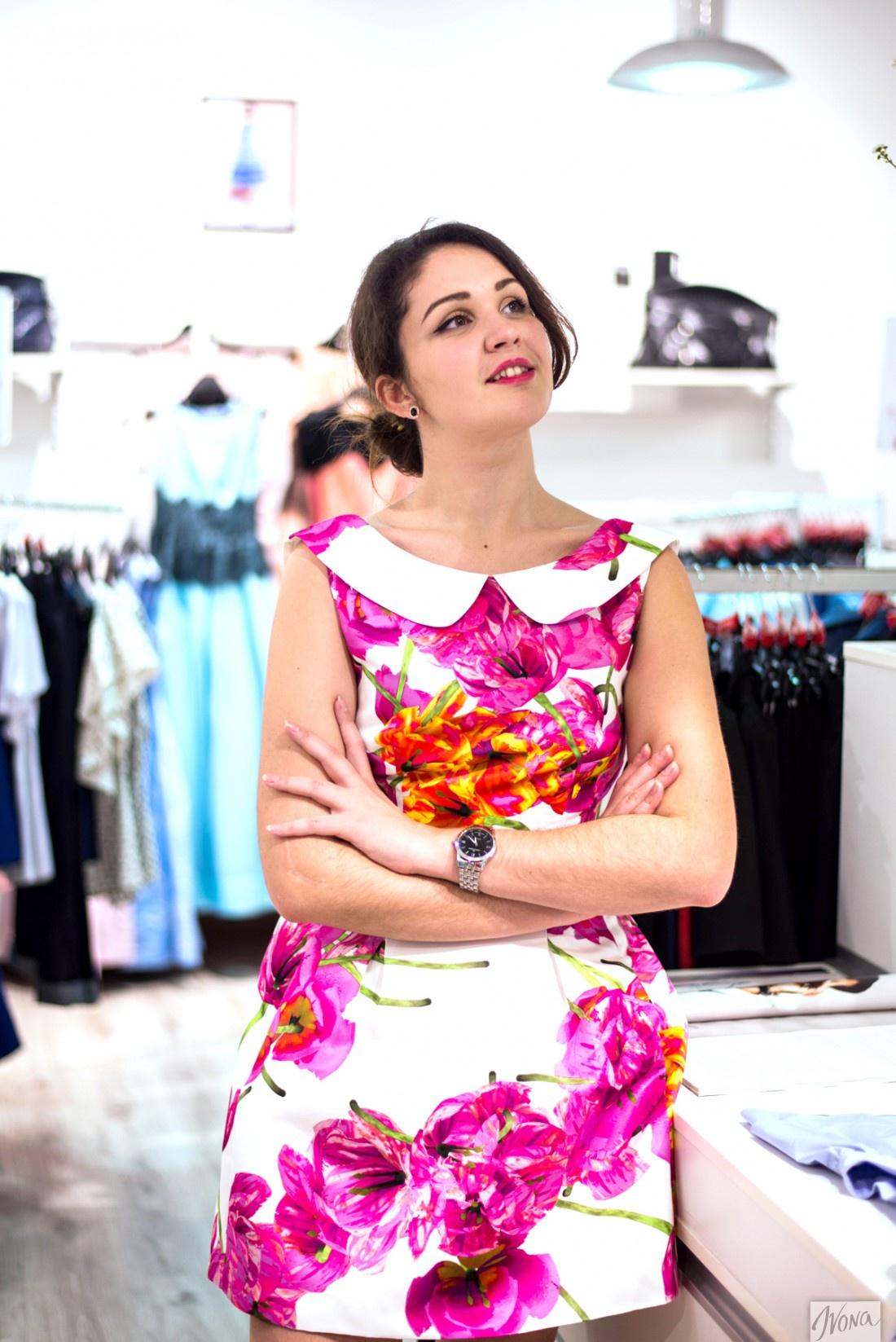 Победительница конкурса на Ivona в выпускном платье от Андре Тана