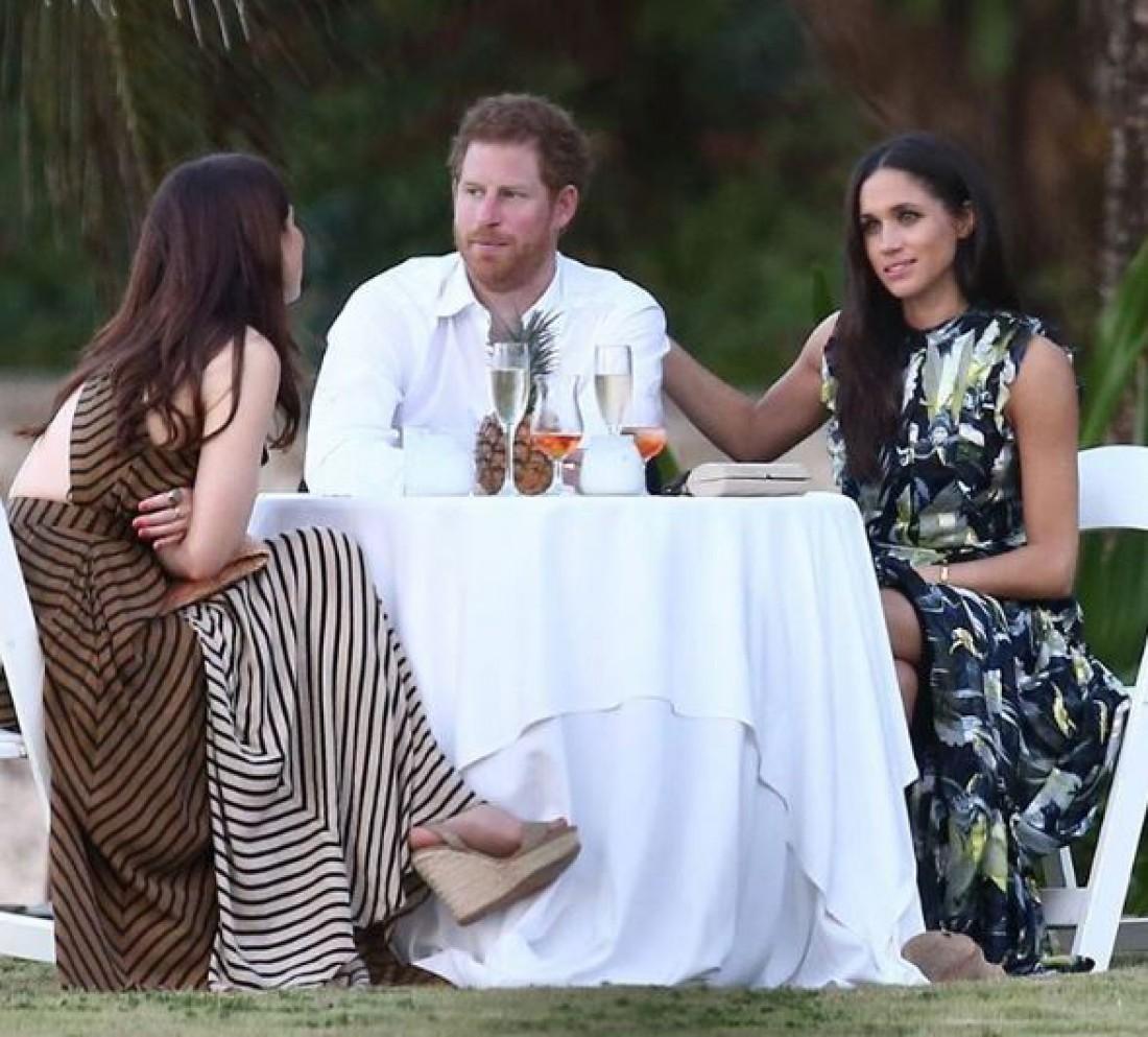 Принц Гарри и Меган Маркл на свадьбе у друга на Ямайке