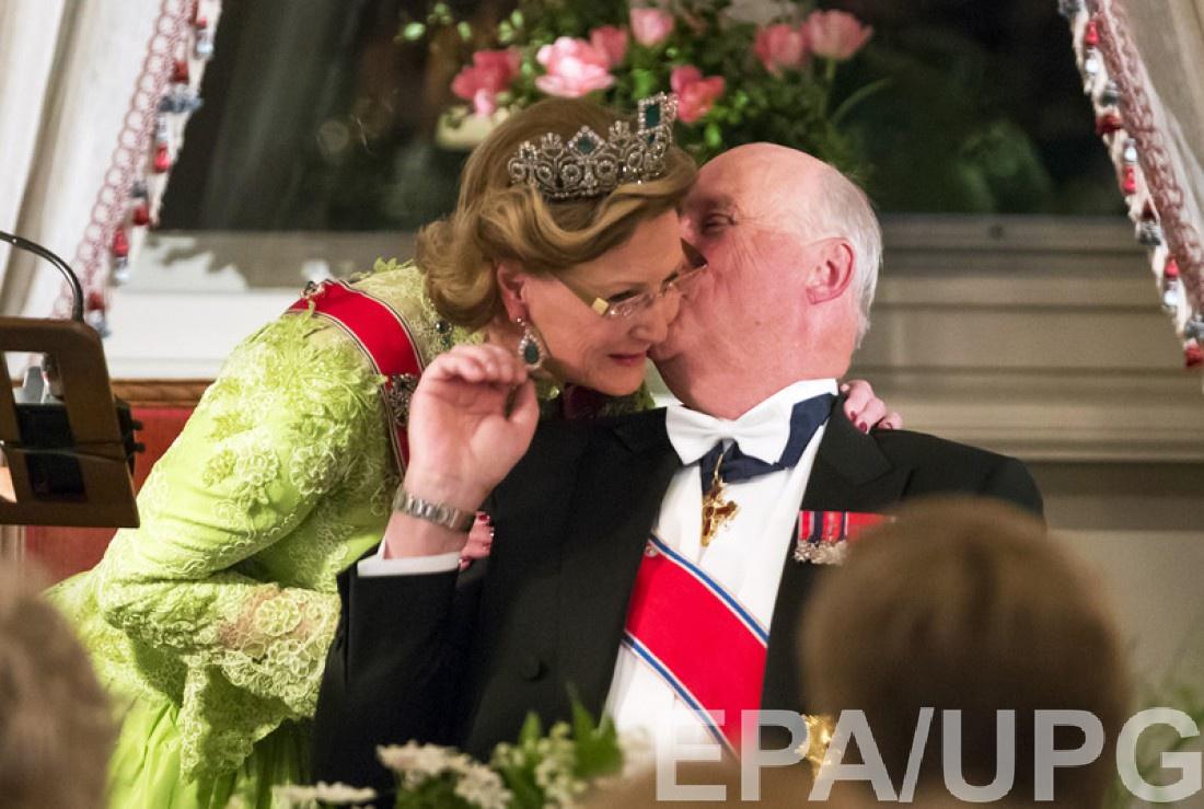 Король Харальд и королева Соня
