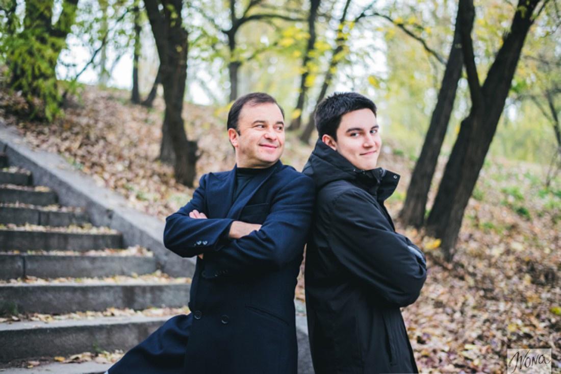 Виктор и Паша Павлики