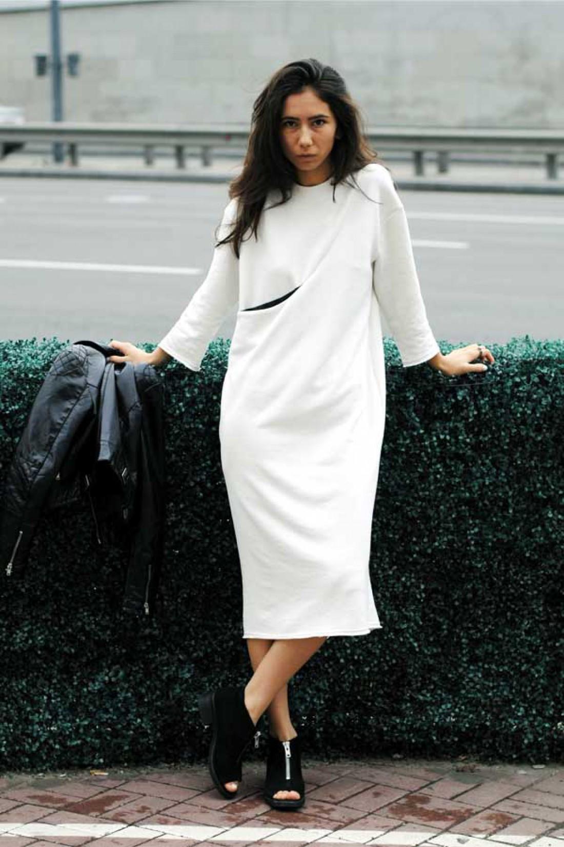 Миди-платье от украинского бренда UNGU